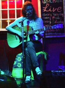 Charly Juma Guitar Armchair Oct 2013